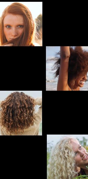 Typologie du cheveu